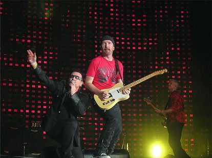 U2 -Elevation Tour -24/10/2001 -New-York -USA- Madison Square Garden #1