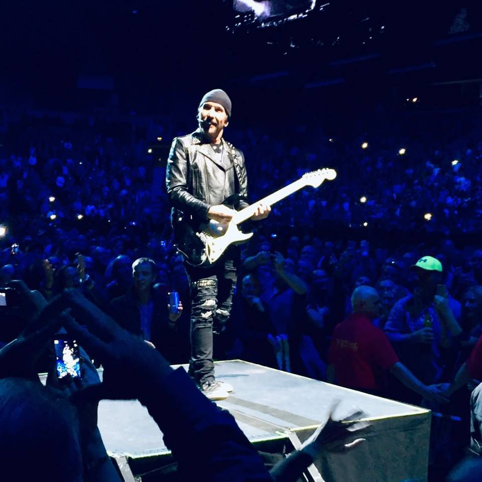 U2 -Belfast  Royaume-Uni 27/10/2018 -SSE Arena