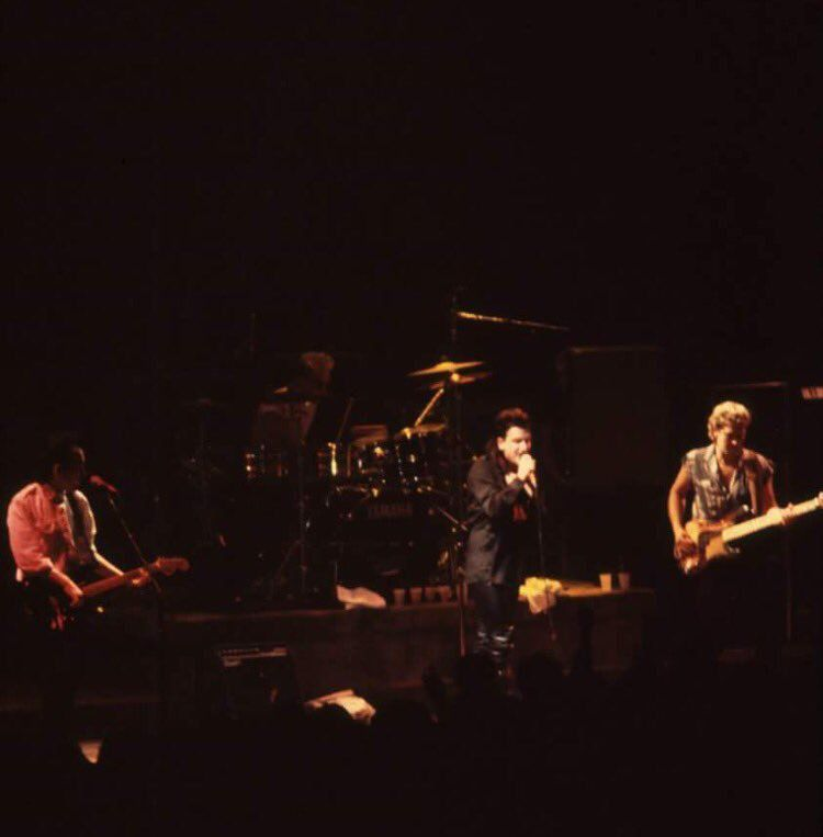U2 -Unforgettable Fire Tour -28/10/1984 -Bruxelles -Belgique -Vorst National #2