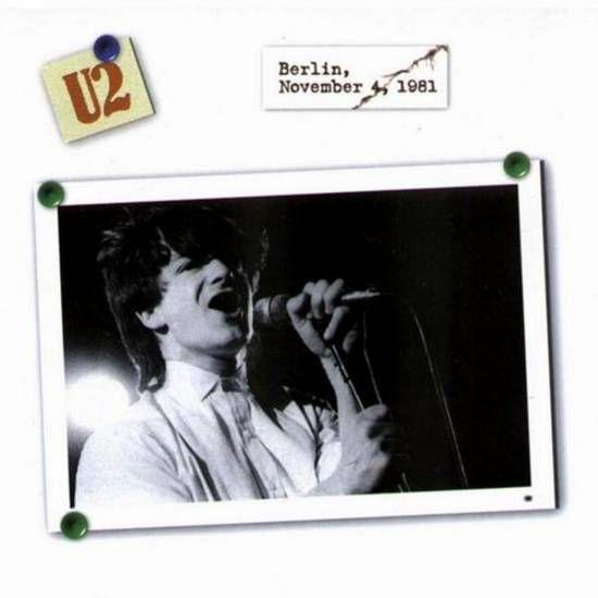 U2 -October Tour -04/11/1981 -Berlin Allemagne -Metropol