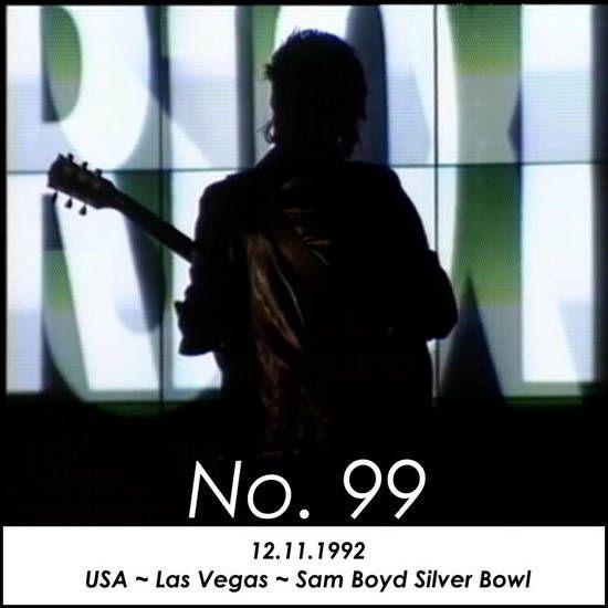 Après Ultra Violet, Bono dit au garde de sécurité de rester hors de la scène et lui dit de ne plus monter sur la scène, affirmant qu'ils ne lui appartiennent pas.