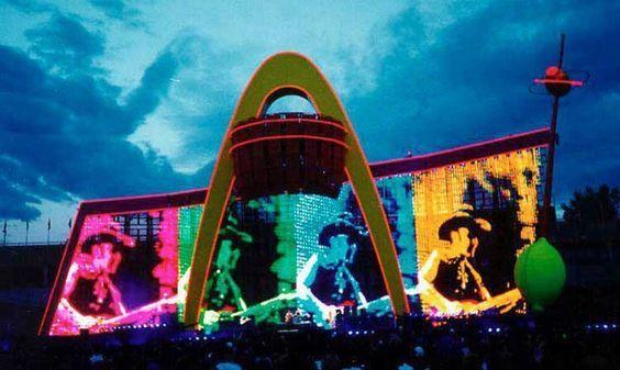 U2 -PopMart Tour -31/01/1998 -Sao Paulo  Brésil - Morumbi #2
