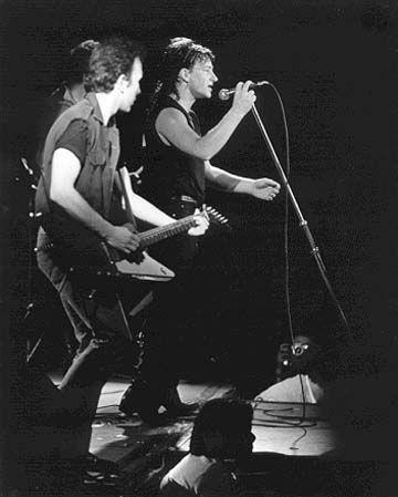 U2 -Unforgettable Fire Tour- 08/02/1985 Zurich -Suisse- Hallenstadion