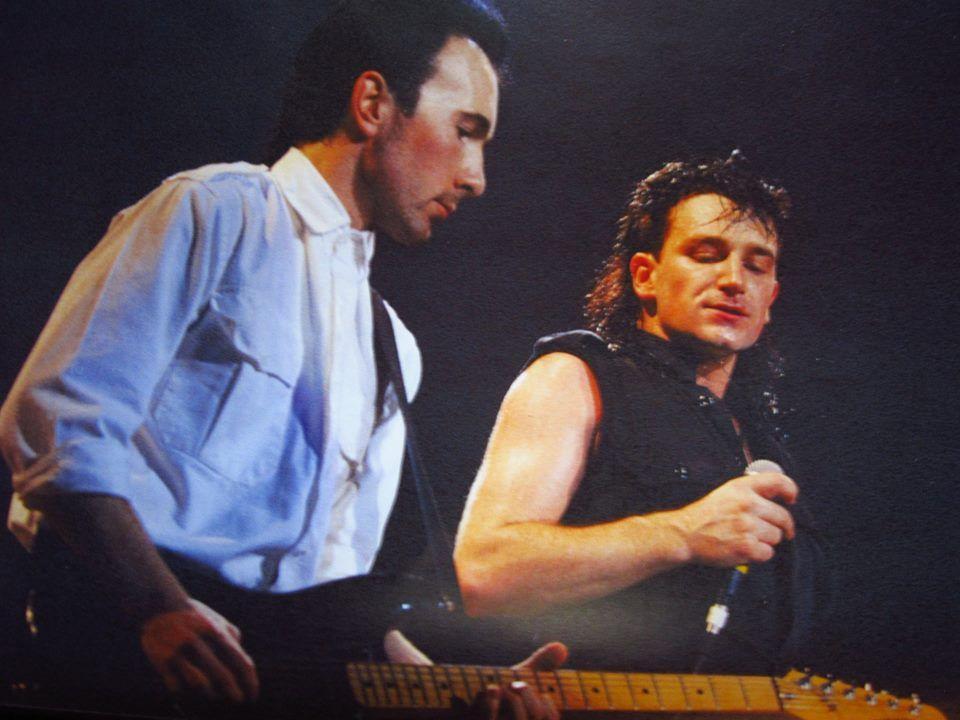 U2 -Unforgettable Fire Tour -31/01/1985 -Cologne -Allemagne -Sporthalle