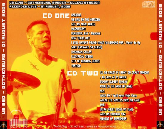 U2 -360°Tour -01/08/2009 -Gelsenkirchen -Allemagne -Veltins-Arena #2