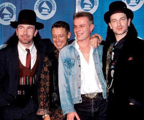 U2 - 30ème Grammy Awards -Radio City Music Hall - New York -02-03-1988
