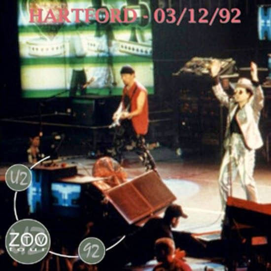U2 -ZOO TV Tour -12/03/1992 -Hartford -USA -Hartford Civic Center