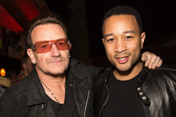 Bono -DIESEL + EDUN Studio Africa Event -Tally Horse Ranch -Californie -12-04-2013