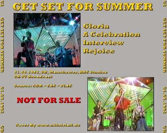 """U2 -UK TV - """"Get Set For Summer"""" - Unknown, England 01-05-1982"""