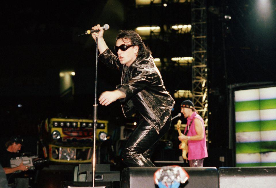 U2 -ZOO TV Tour  -09/05/1992 -Gand -Belgique - Flanders Expo Hall