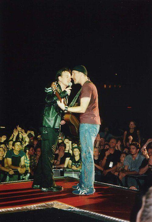 U2- Elevation Tour -14/06/2001 -Washington -USA -MCI Center #1