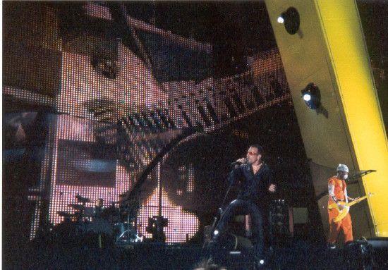 U2 -PopMart Tour -29/06/1997 -Chicago -USA - Soldier Field #3