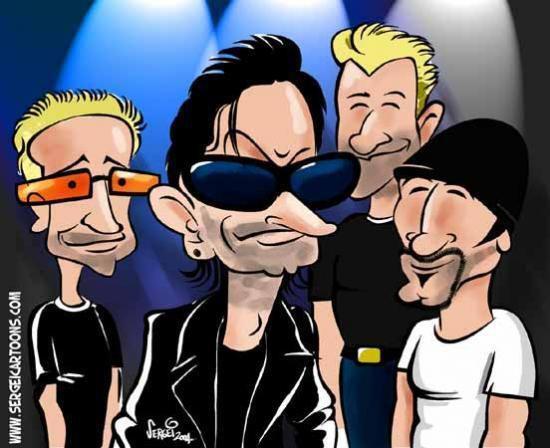 Formé à Dublin en 1976, U2 est un groupe de rock irlandais Il est composé au chant de Paul Hewson alias Bono, David Evans dit The Edge à la guitare, Adam Clayton à la basse et Larry Mullen Junior à la batterie.