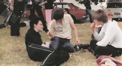 U2 -Early Days -27/07/1980 -Dublin -Irlande -Leixlip Castle