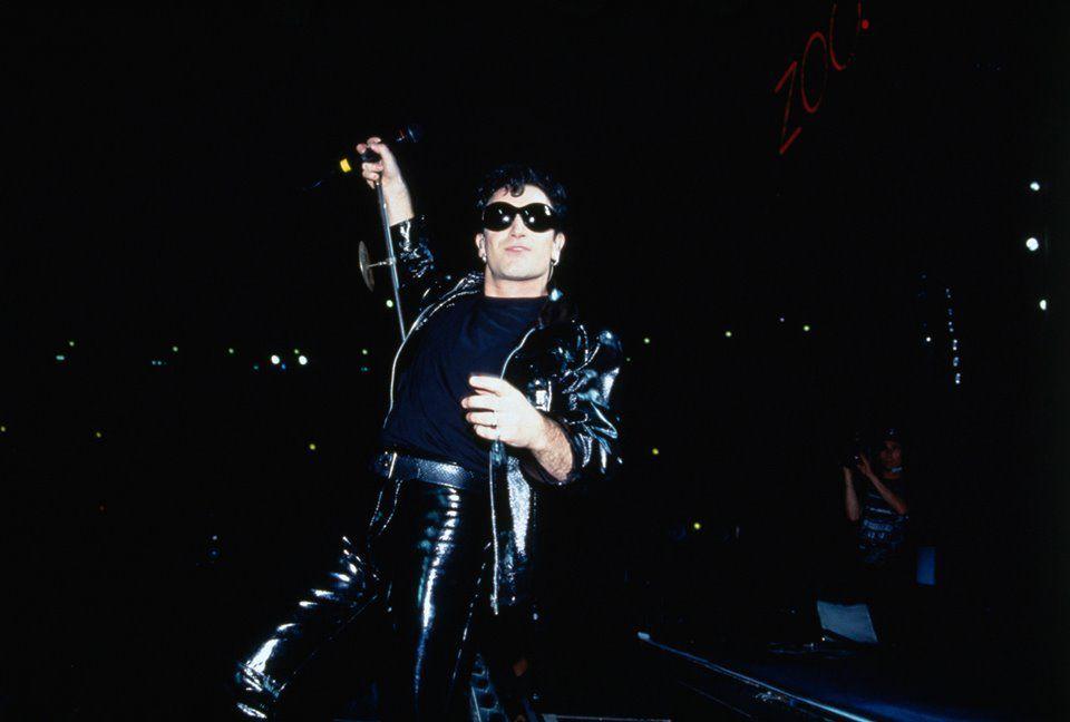 U2 -ZOO TV Tour -22/08/1992 -Foxboro -USA -Foxboro Stadium #2