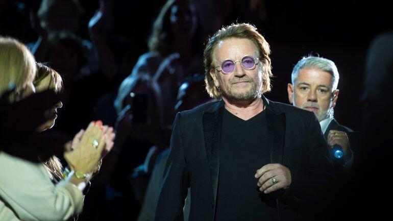 Lutte contre le sida : le chanteur Bono de U2 présent à Lyon