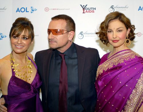 Bono - YouthAIDS Benefit Gala -Ritz Carlton -Virginie 02/11/2007