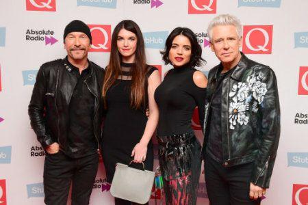The Edge & Adam Clayton - The Stubhub Q Awards -Londres 02/11/2016