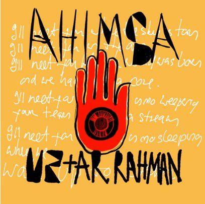 Ahimsa est une chanson réalisée en collaboration avec le compositeur A.R Rahman, qui avait notamment travailler sur le film Slumdog Millionnaire.