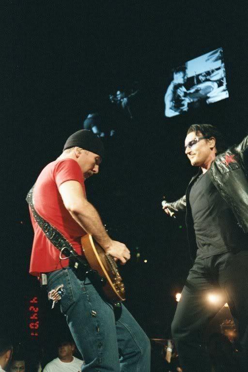 U2 -Elevation Tour -02/12/2001 -Miami -USA -American Airlines Arena