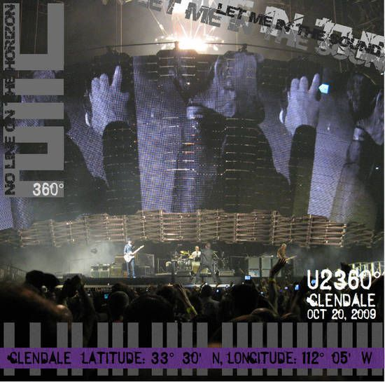 U2 -360° Tour -20/10/2009 -Phoenix -USA -Univ. of Phoenix Stadium