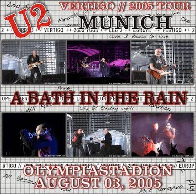 U2 -Vertigo Tour -03/08/2005 -Munich -Allemagne -Olympiastadion