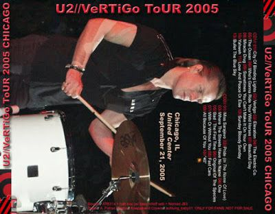 U2 -Vertigo Tour -21/09/2005 -Chicago, IL USA -United Center #2
