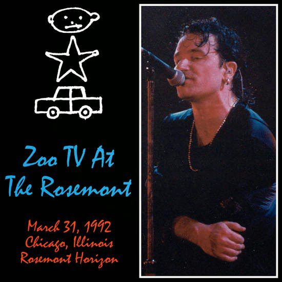 U2 -ZOO TV Tour -31/03/1992 -Rosemont -USA -Rosemont Horizon