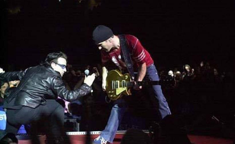 U2 -Elevation Tour -15/06/2001 -Washington -USA -MCI Center #2