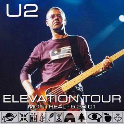 U2 -Elevation Tour -28/05/2001 -Montreal -Canada -Molson Centre #2