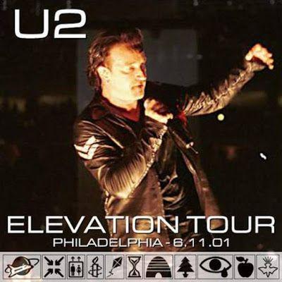 U2 -Elevation Tour -11/06/2001 -Philadelphie -USA -First Union Center #1