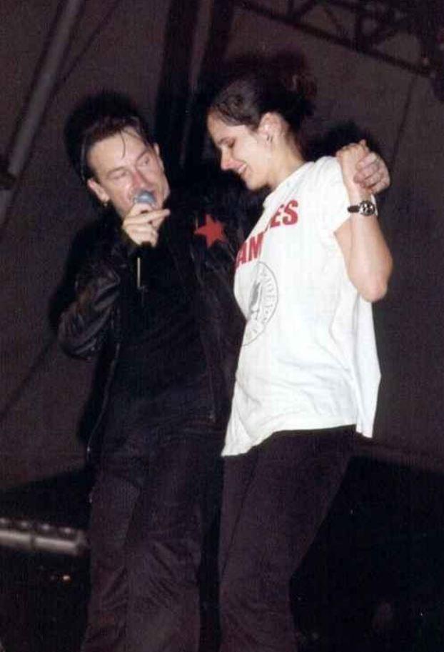 U2 -Elevation Tour -29/07/2001 -Berlin -Allemagne -Waldbühne
