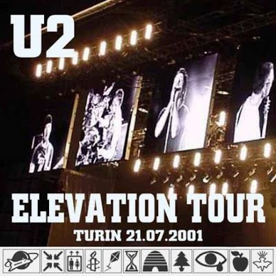 U2 -Elevation Tour -21/07/2001 -Turin -Italie -Stadio Delle Alpi