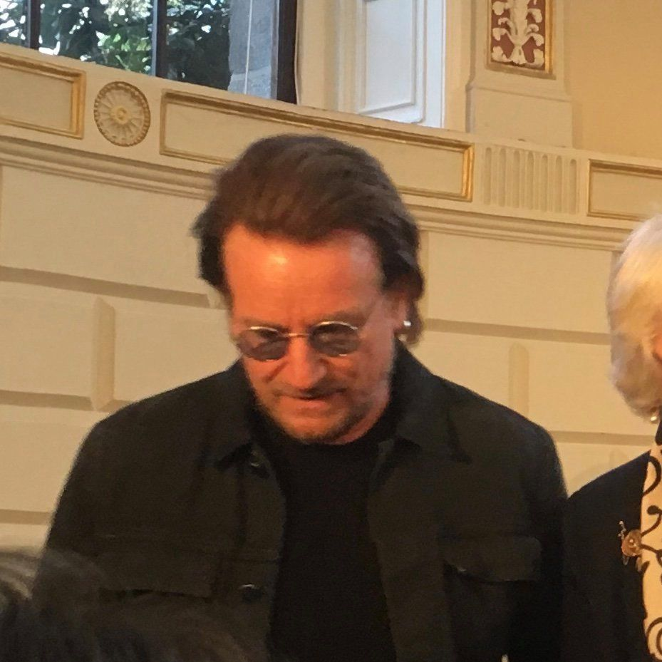 Bono - Looking For Europe -Trinity College Dublin -Irlande -01/05/2019