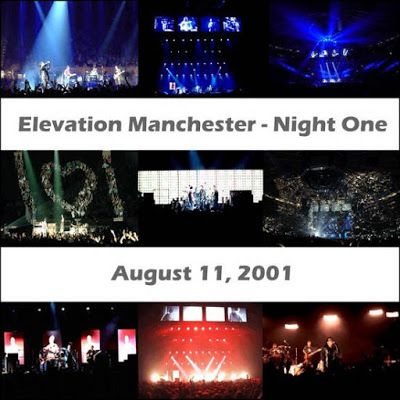 U2 -Elevation Tour -11/08/2001 -Manchester -Angleterre -M.E.N. Arena #1
