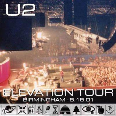U2 -Elevation Tour -15/08/2001 -Birmingham -Angleterre -NEC Arena #2