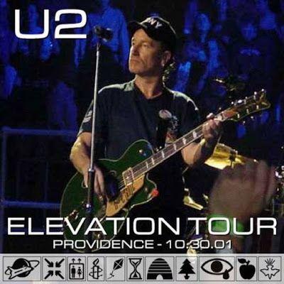 U2 -Elevation Tour -30/10/2001-Providence -USA -Providence Civic Center #