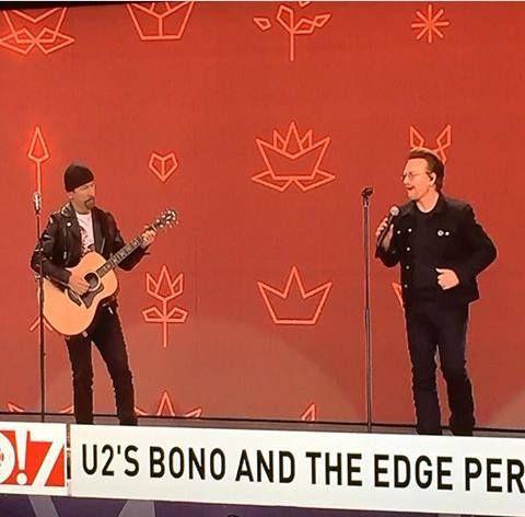 Bono et The Edge - Canada 150 -Parliament Hill - Ottawa -Canada -01/07/2017
