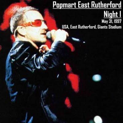 U2 -PopMart Tour -31/05/1997 -East Rutherford -USA -Giants Stadium