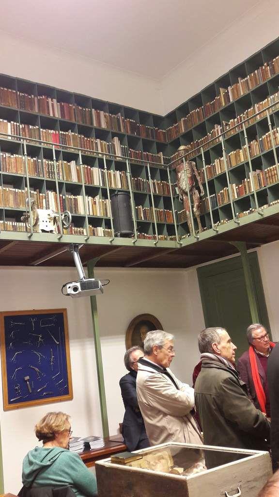 Visite de la Bibliothèque interuniversitaire de santé (BIU Santé) le 26 janvier 2017