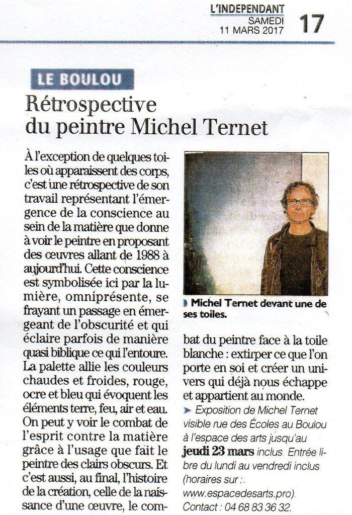Michel Ternet à l'EDA
