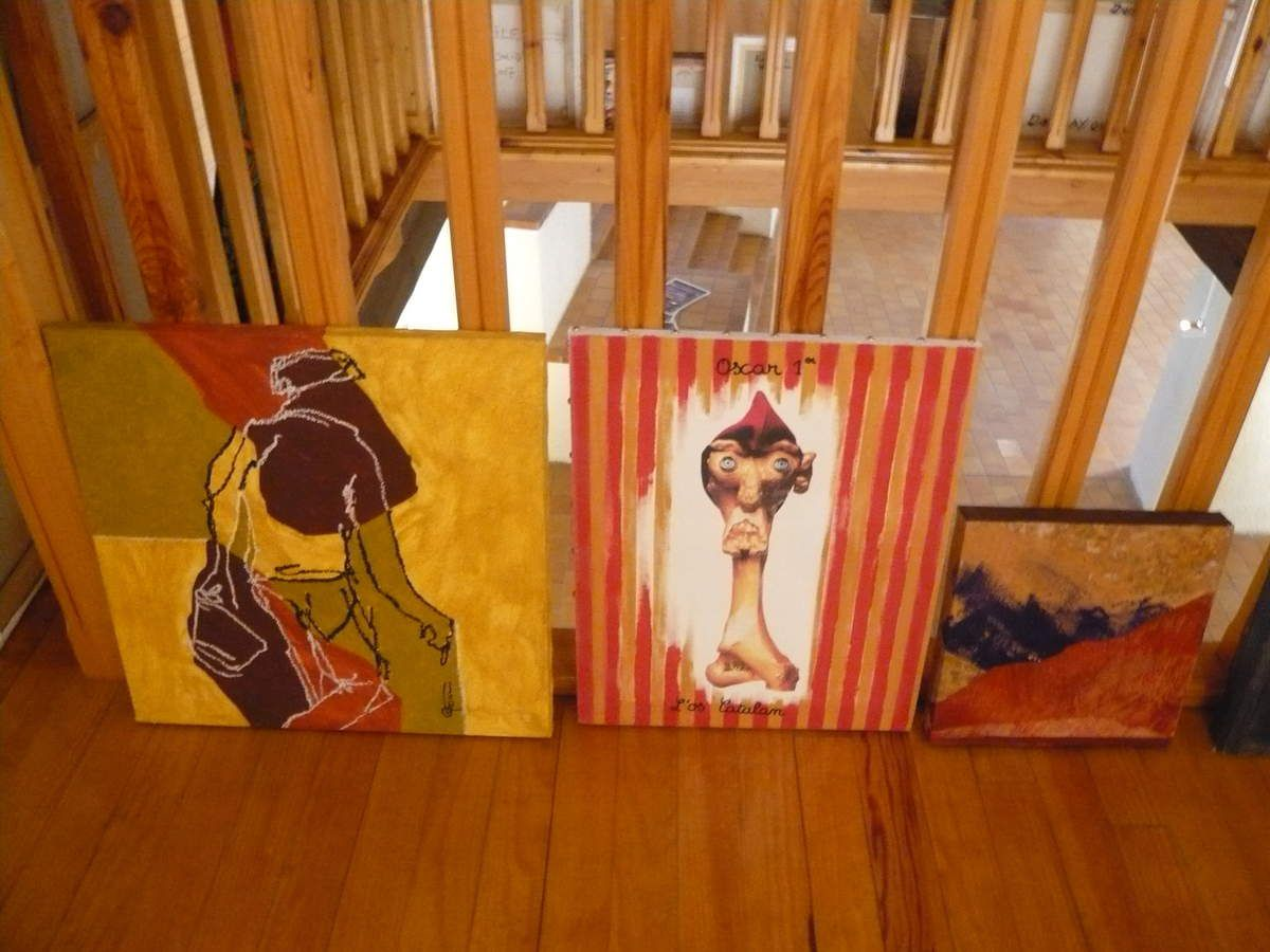 ROSE MARIE GARCIA (peinture) DENIS MICHEL (peinture) MIRO PEDRET (peinture)