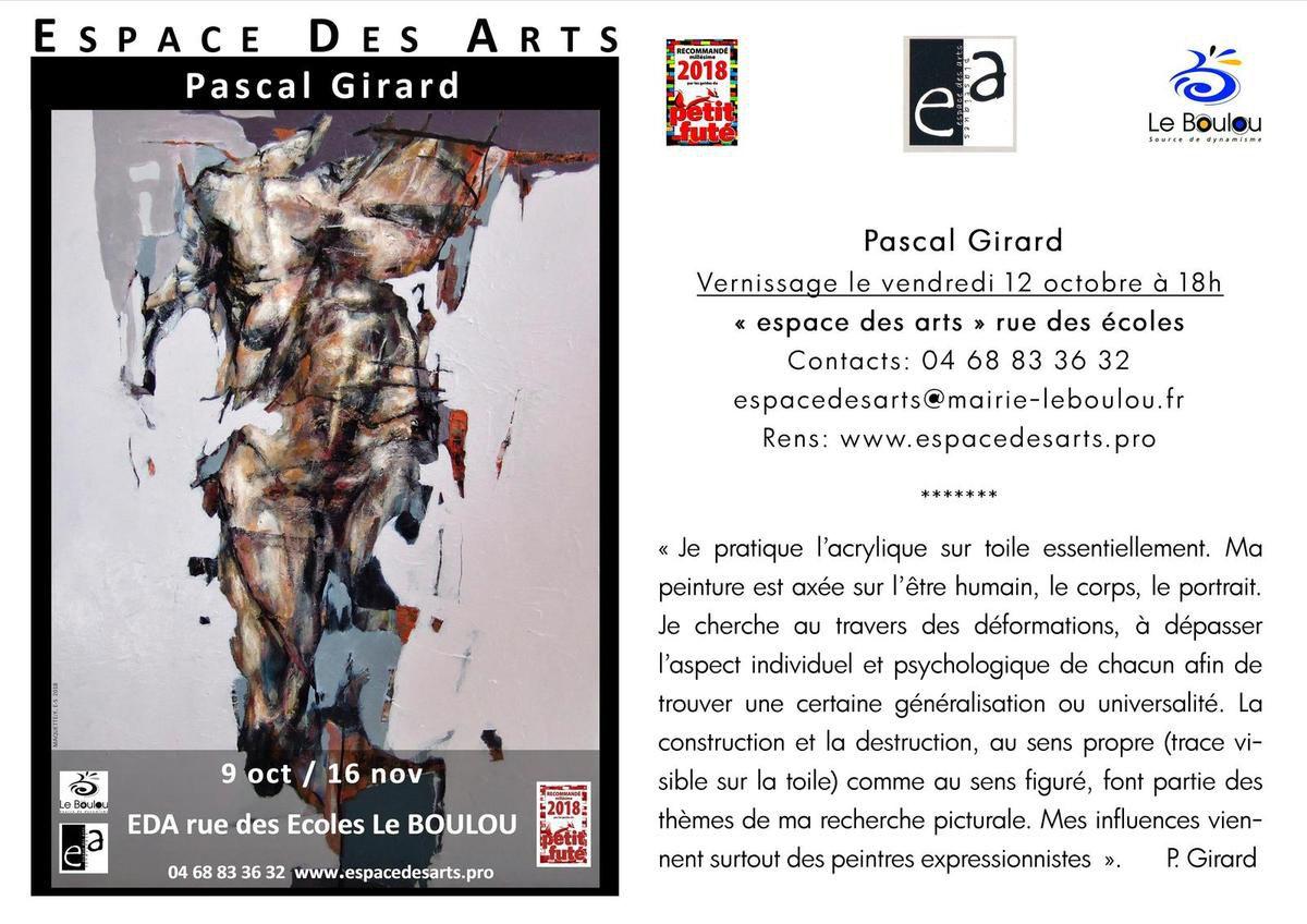 Pascal Girard à l'EDA