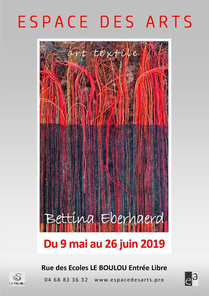 "Bettina Eberhaerd ""art textile"""