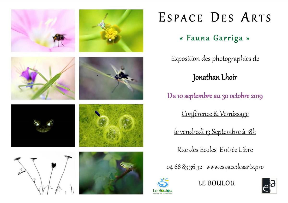 CONFERENCE/VERNISSAGE VENDREDI 13 SEPTEMBRE 18H/ENTREE LIBRE