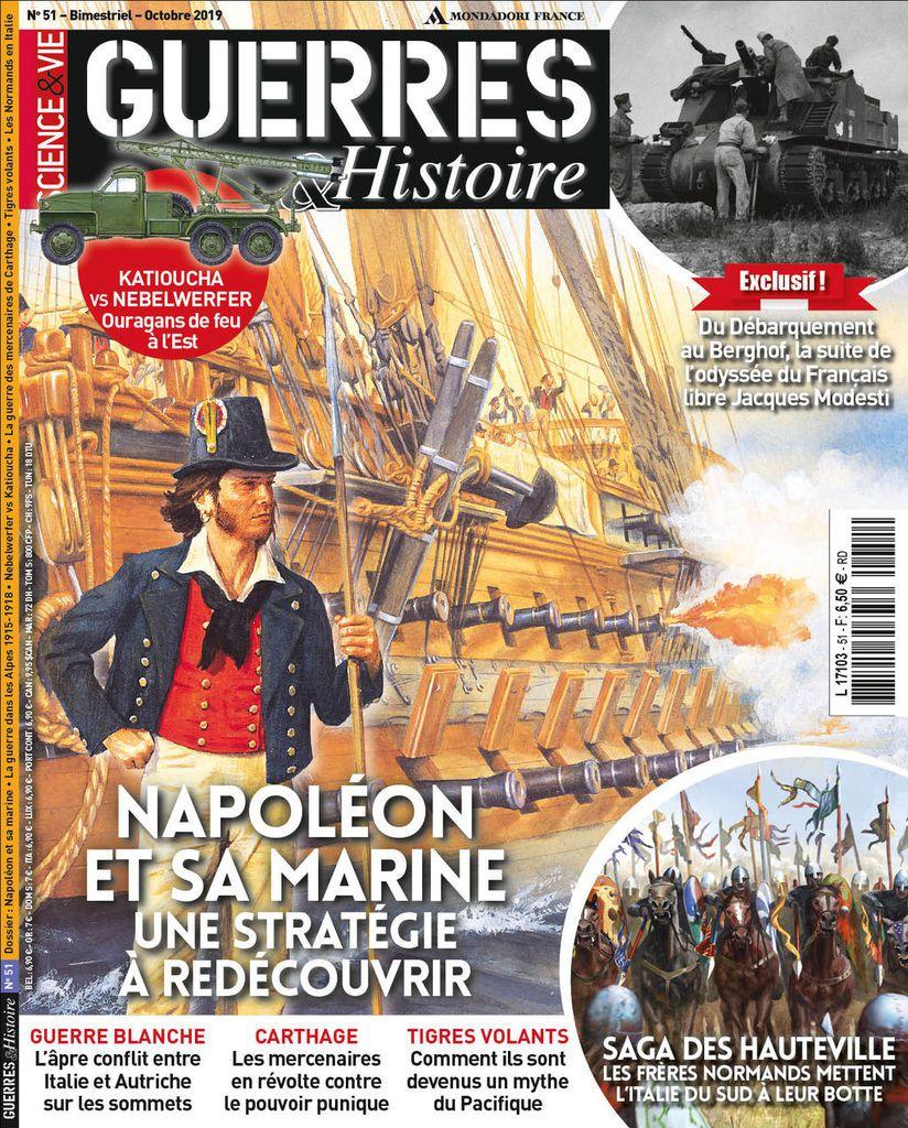 A la une de Guerres & Histoire n°51