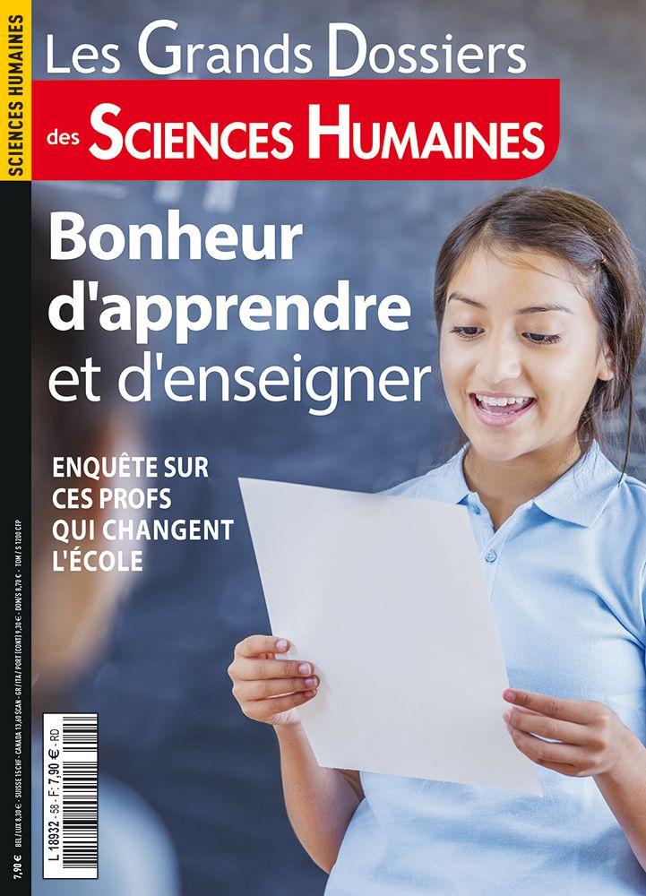 A la une des Grands dossiers de Sciences Humaines n°58