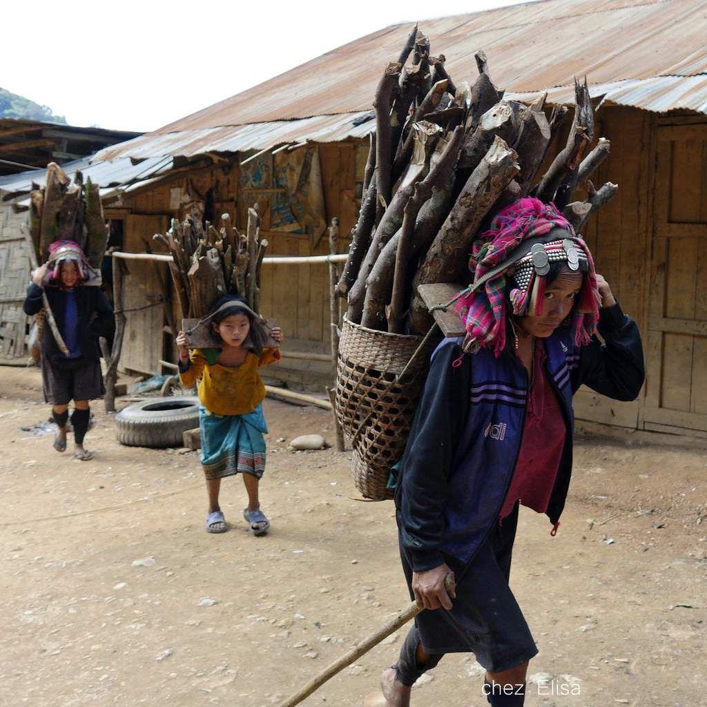 Laos Parures ethniques