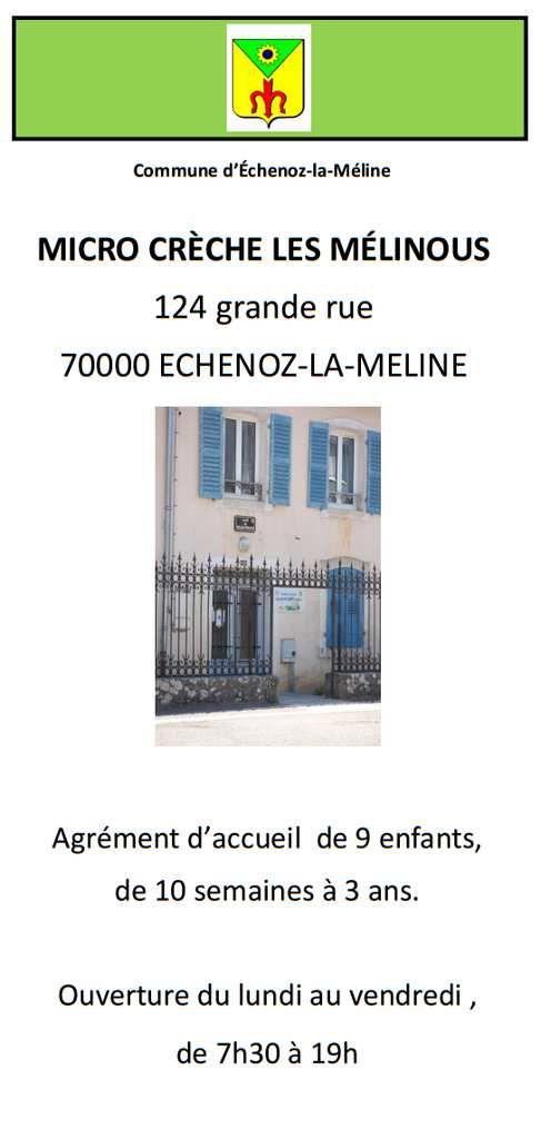 La Micro-Crèche d'Echenoz-la-Méline