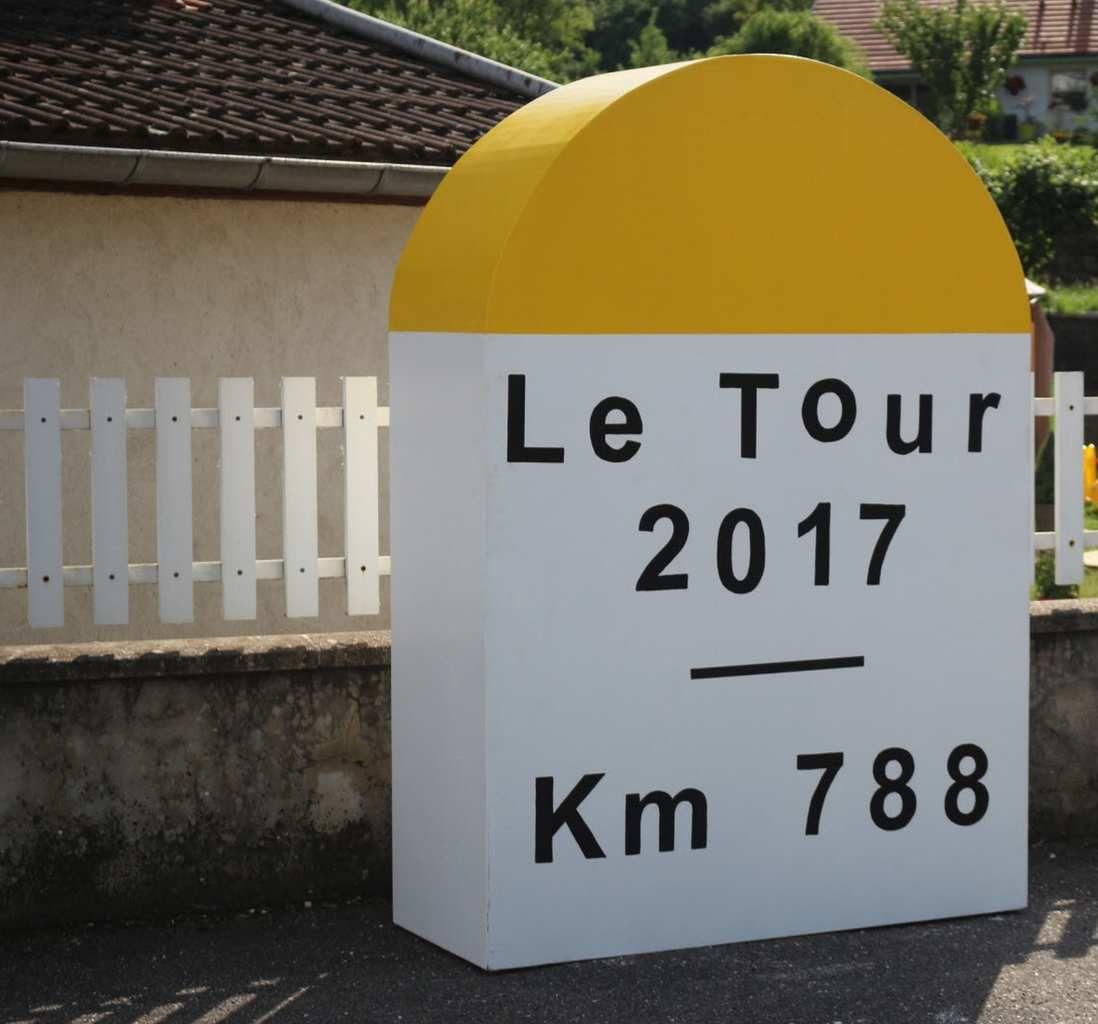 Tour de France : une sacrée borne !